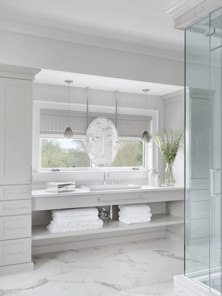 Stunning bathroom that has light fixtures that