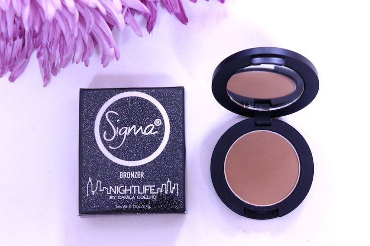 Nightlife by Camila Coelho Collection | Sigma Beauty | Super Vaidosa | Review and Swatches | Limelight Bronzer @SigmaBeauty