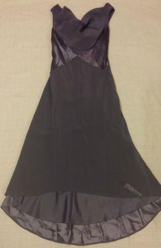 BNWT-034-Pearce-Fionda-034-Ladies-Dark-Grey-Dress-Size-8