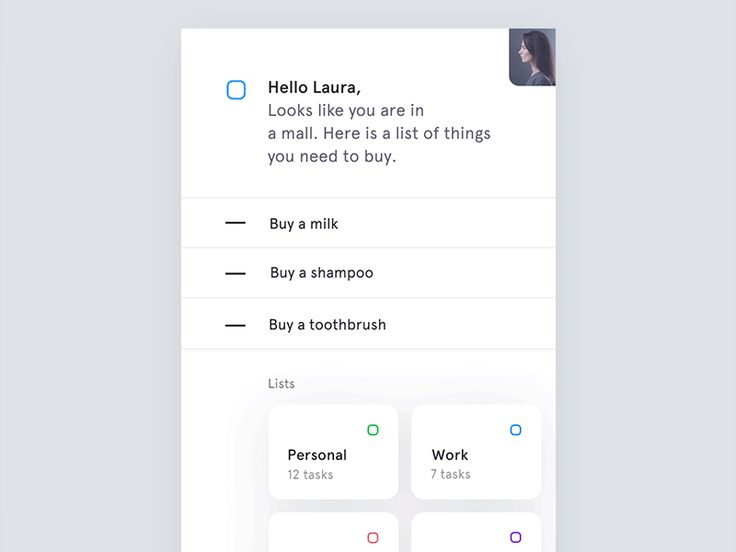 Microinteractions for to-do list app by Jakub Antalík
