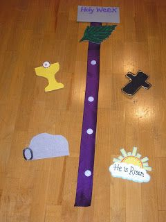 The Diary of a Sower: Make a Holy Week banner