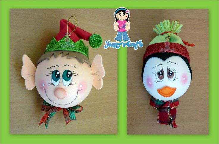 Yanny´s Crafts: Esferas Navideñas (Creación Original)