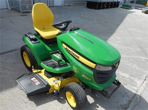 2014 JOHN DEERE X540 Riding Lawn Mowers For Sale At TractorHouse.com