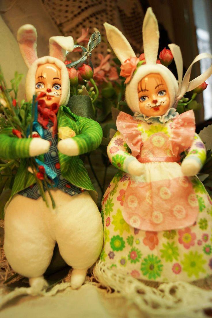 Ватные игрушки Елены Васько
