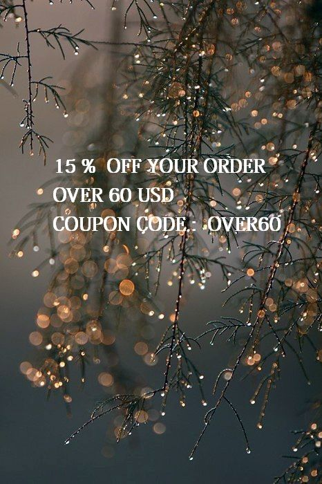 15% off your order, purchasing items over 60 usd from our etsy shop, use coupon code: OVER60 https://www.etsy.com/shop/Lycidasjewelry?ref=hdr_shop_menu