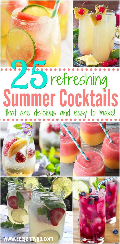 The Best Summer Cocktails