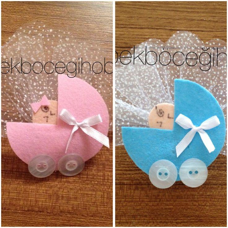 Arabada bebek bebek şekeri