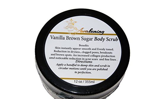Our BEST Vanilla Argan Oil Brown Sugar Scrub 12 oz  A Powerful Remedy for Varicose Veins Cellulite Stretch Marks Eczema  Acne  Deep Skin Exfoliator  Promotes Cell Repair  Skin Rejuvenation ** You can get more details by clicking on the image.