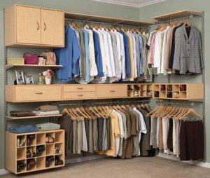 closets aramados de canto - Fotos de Decoração