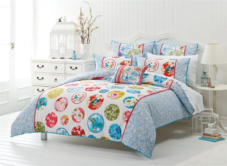 Add a fresh springtime look and feel to your bedroom #bedbathntable