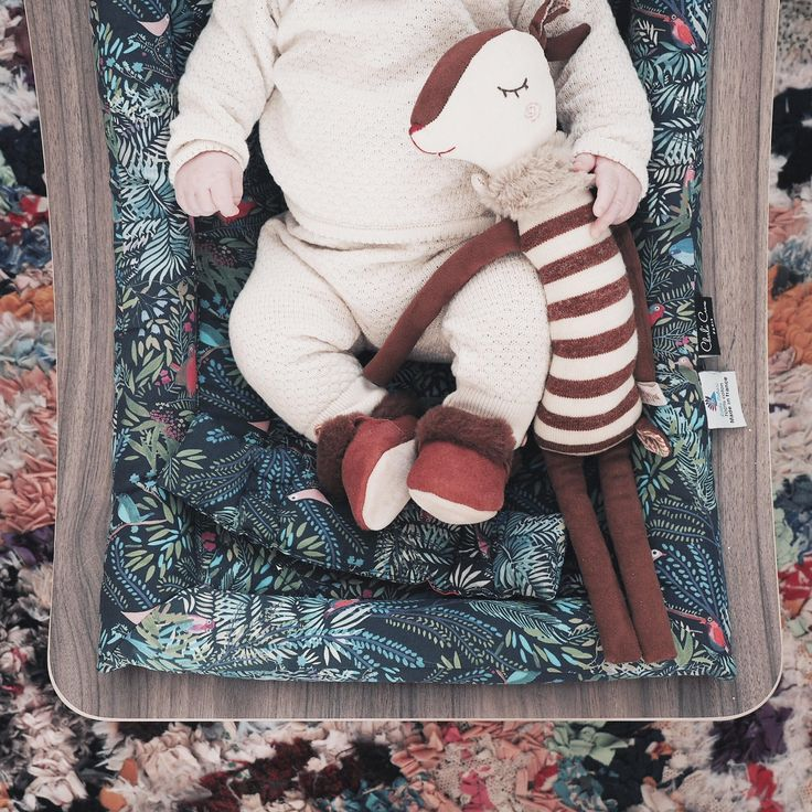 Marlo in his babyrocker Charlie Crane x Little Cabari