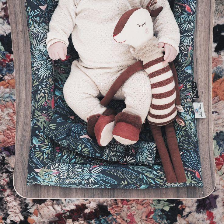 Marlo in his babyrocker Charlie Crane x Little Cabari