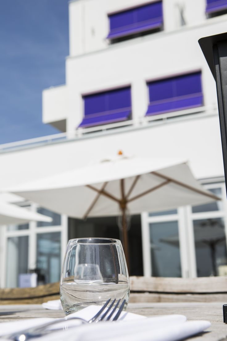 Boutique Hotel Vesper In Noordwijk. View From The Terrace.