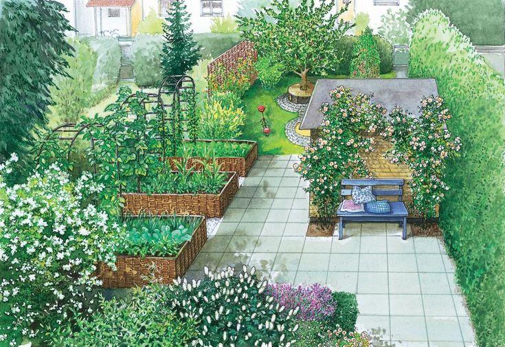 328 besten gartengestaltung bilder auf pinterest - Gartengestaltung vorschlage ...