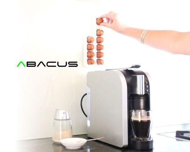 Abacus | Nespresso Coffee Pod Rack 3D Printing 34106