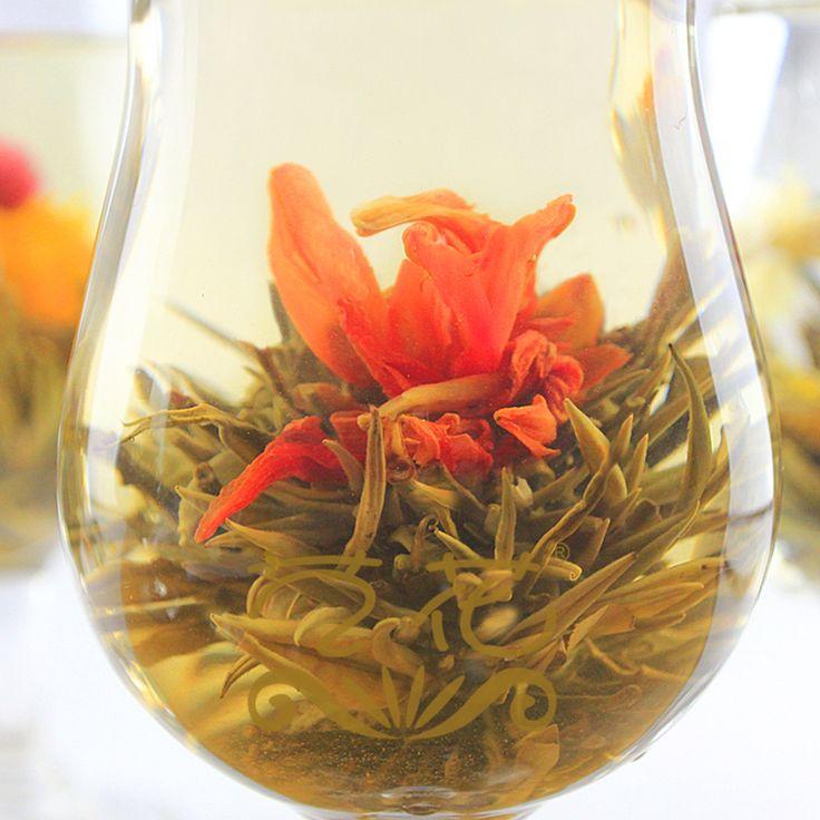 5 pcs handmade blooming flower tea chinese ball blooming