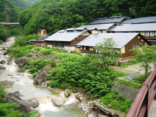7 of the Best onsen in Japan