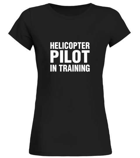 Helicopter pilot in training novelty t-shirt