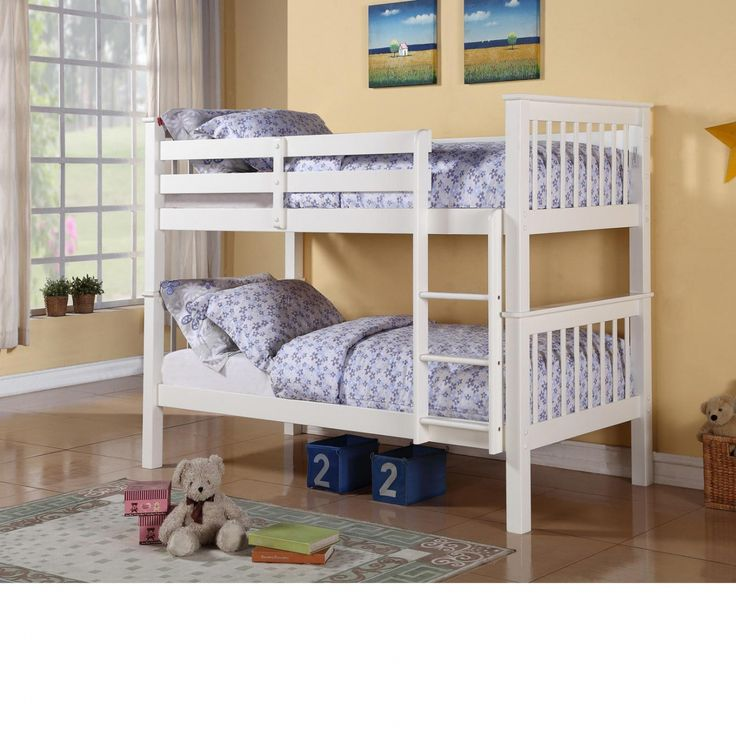 Lovely White Wooden Bunk Beds Ikea Check more at http://dust-war.com/white-wooden-bunk-beds-ikea/