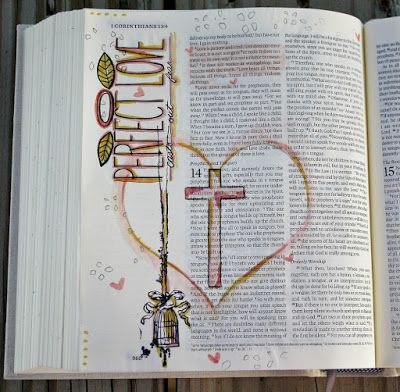 Msliberty Creations: Creating in Faith Bible Journaling