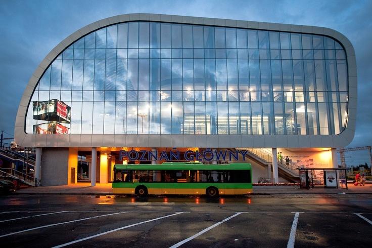 Poznan Poland, Dworzec Poznań Główny [fot.Łukasz Wypiór]