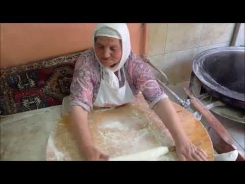 Турецкая кухня. Гёзлеме,рецепт.Türk gözlemesi. - YouTube
