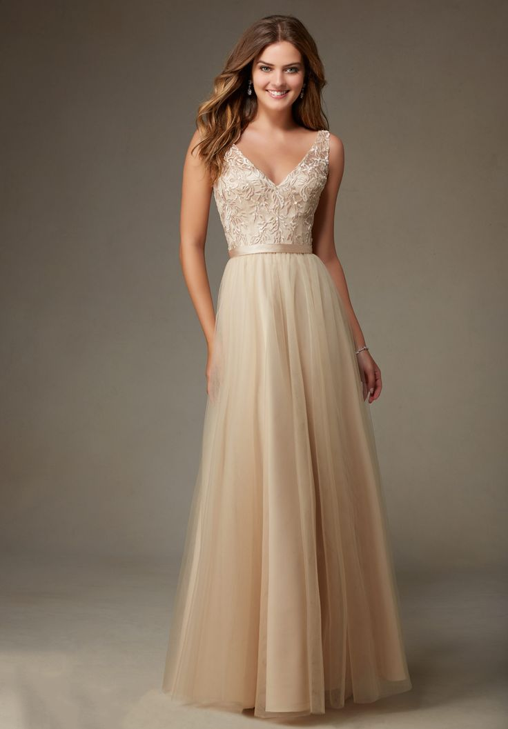 Mori Lee Tulle Affairs Bridesmaids 111