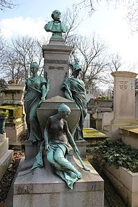 Statues of women in the Père-Lachaise Cemetery - Wikimedia Commons