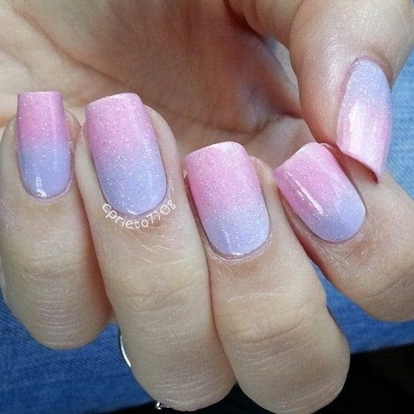 Sweet Cotton Candy Nail Colors and Designs - The 25+ Best Cotton Candy Nails Ideas On Pinterest Pretty Nails