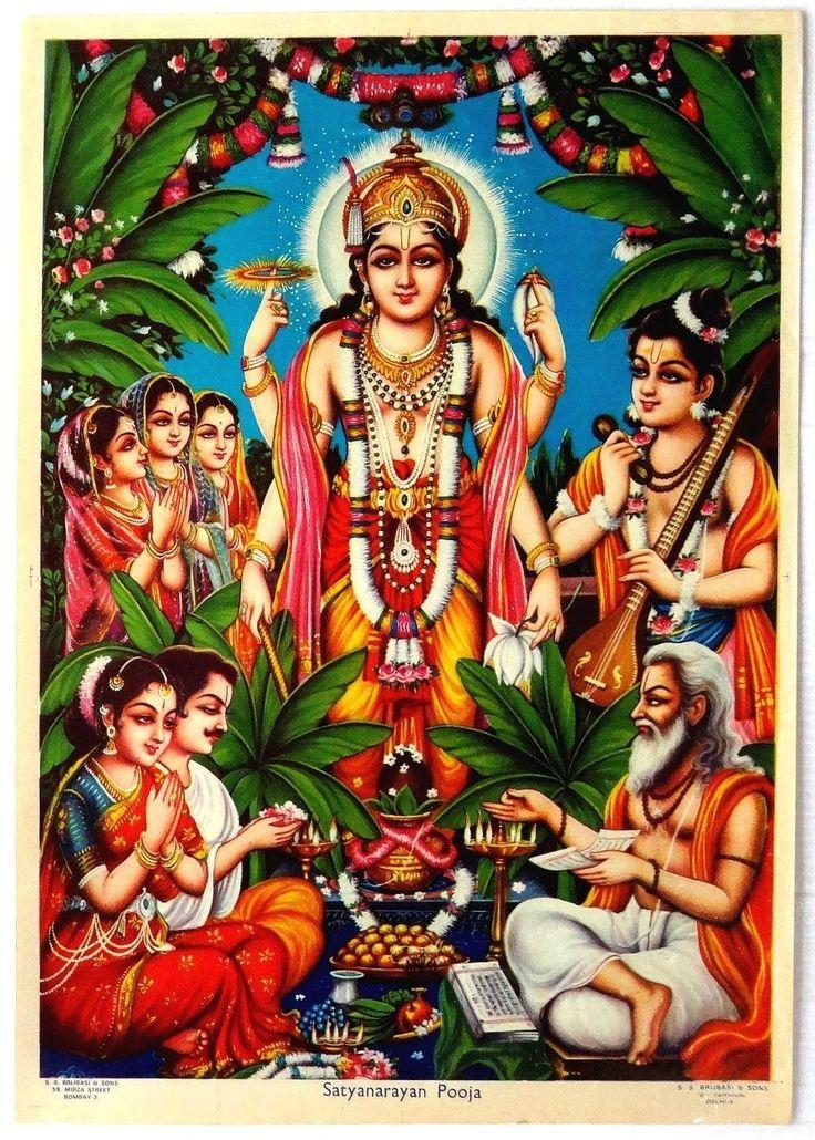 Satyanarayan Pooja .