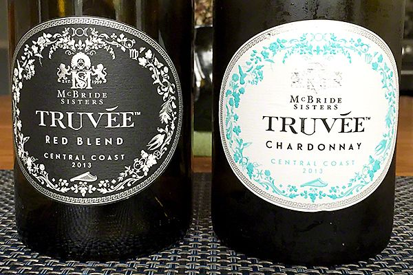 Truvée wines by the McBride Sisters