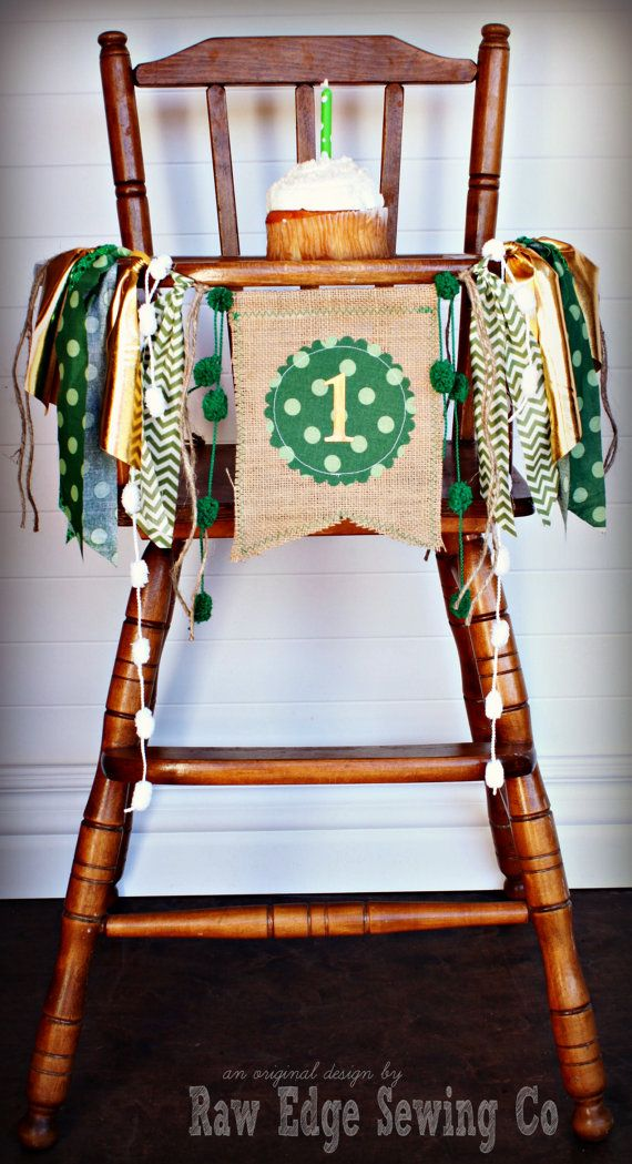 ST PATRICK'S DAY Inspired Birthday Age High by RawEdgeSewingCo