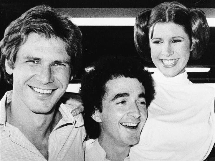 Chewbacca actor Peter Mayhew tweets great old 'Star Wars' photos! How fun!!