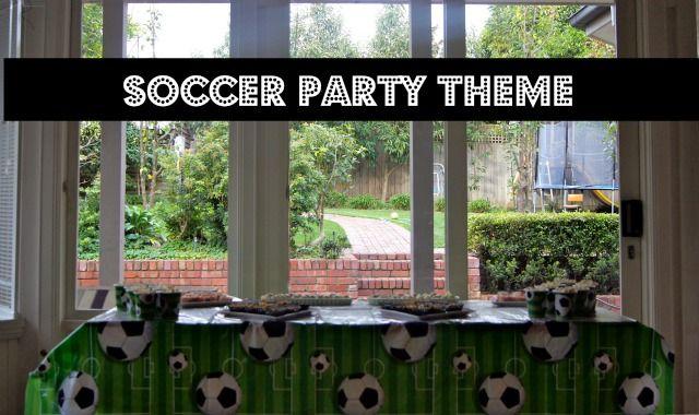 Soccer Party Theme Ideas