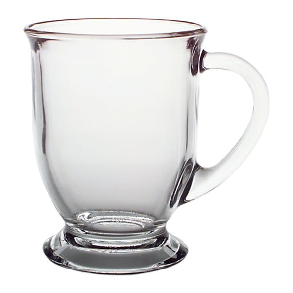 Just bought these to replace the mix and match mugs I've accumulated over the years (most of which were too small for a large cup of coffee).  Love these :) Cafe Mug - Crate and Barrel