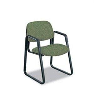 Safco 7047GN Safco Cava Urth Collection Sled Base Guest Chair SAF7047GN SAF 7047GN