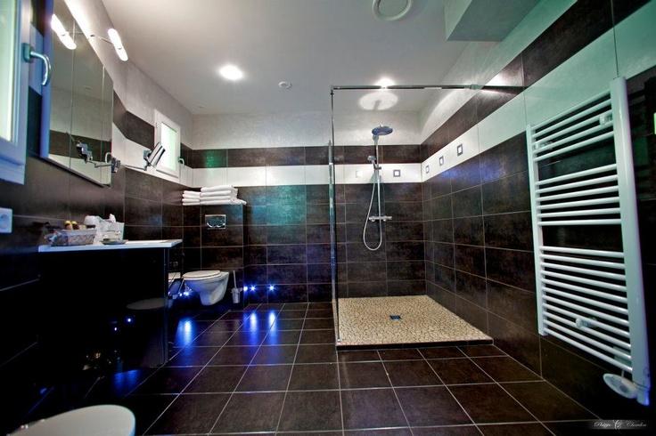 Int rieur d 39 une salle de bain dans une maison de c dre la - Les plus beaux interieurs ...