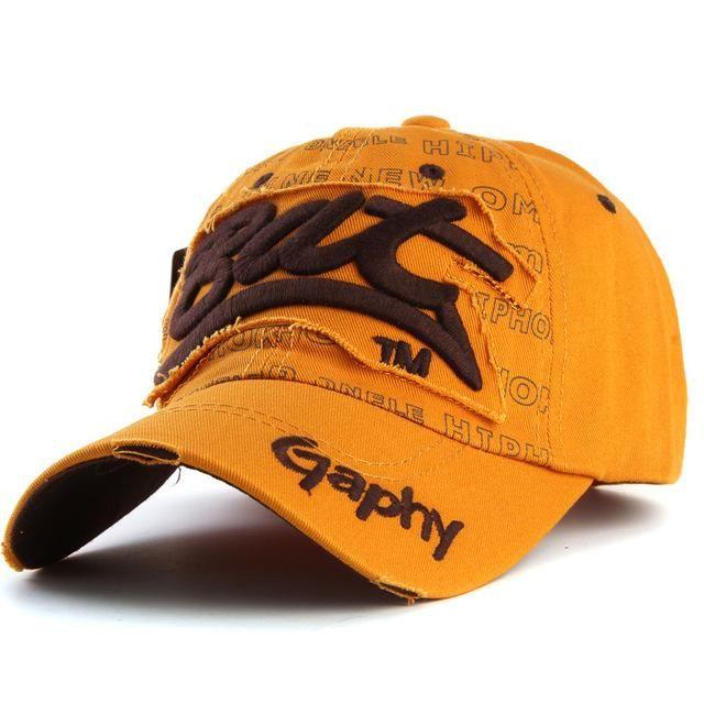 [[Xthree] snapback hats baseball cap hats hip hop fitted cheap hats for men women gorras curved brim hats Damage cap