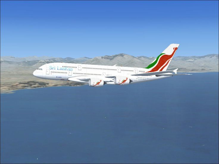 SriLankan Airlines Airbus A380-800