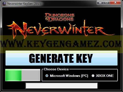 Are you looking for Neverwinter KeyGen? If the answer is YES, you've got in the right place. Right now I'll try to learn you how to generate free serial keys with Neverwinter KeyGen Tool for Neverwinter video game.
