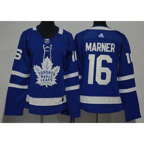Women s Toronto Maple Leafs  16 Mitch Marner Blue Adidas Jersey   TorontoPhotography Mitch Marner 78f913555