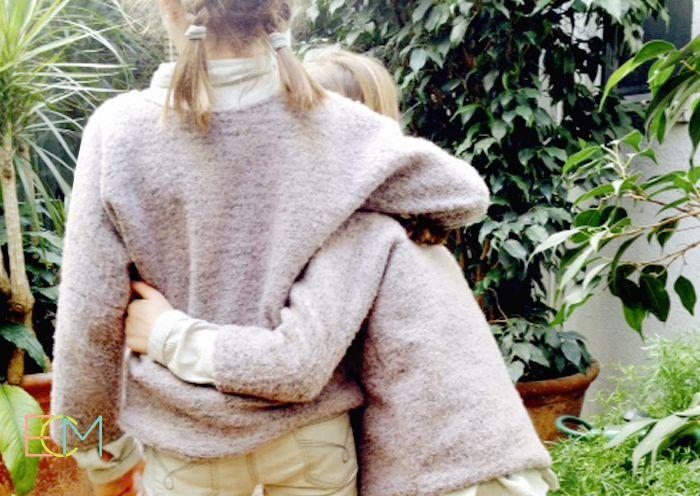 jersey básico. dos costuras, moda