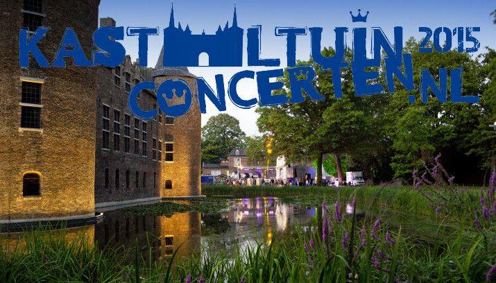 Zeven vrijdagavonden van 10 juli tot en met 21 augustus treedt elke week een andere band op in de sfeervolle Helmondse kasteeltuin.