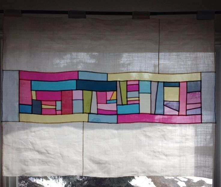#Jogakbo #Pojaki #Patchwork #조각보 #보자기 #모시#창문가리개 120cm x 90cm