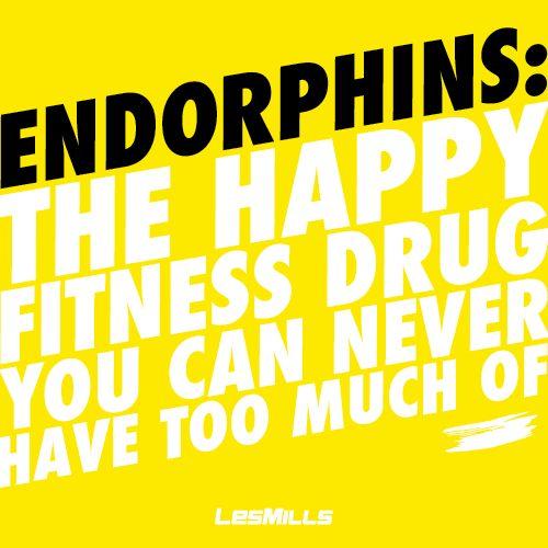 Endorphin boost, anyone? #healthaddiction #happiness