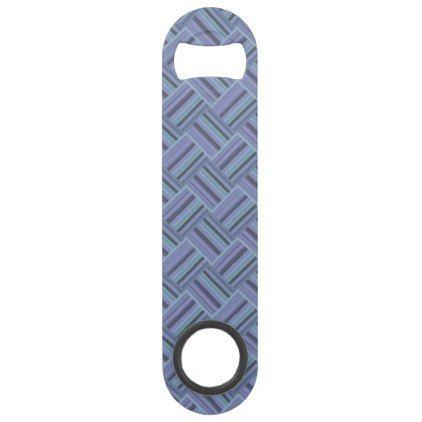 Blue-grey diagonal stripes weave pattern bar key