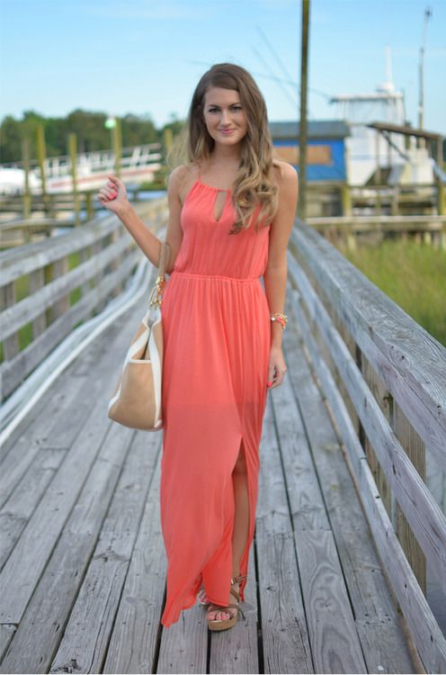 Maxi dresses are perfect for summer
