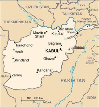 CIA World Factbook: Afghanistan