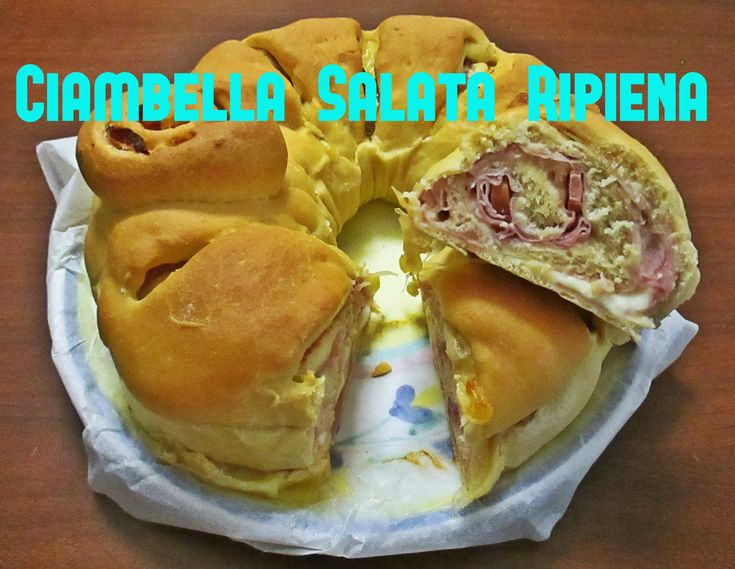 Ciambella Salata Ripiena Bimby TM5