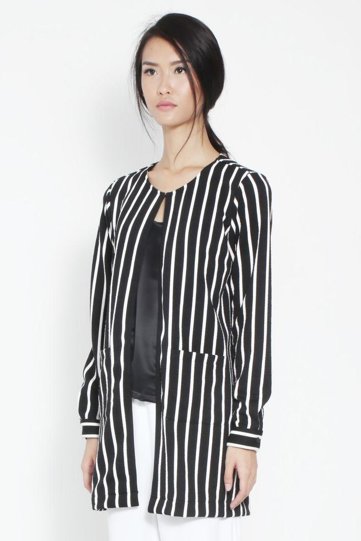 Rosella Stripe Outerwear by kim.